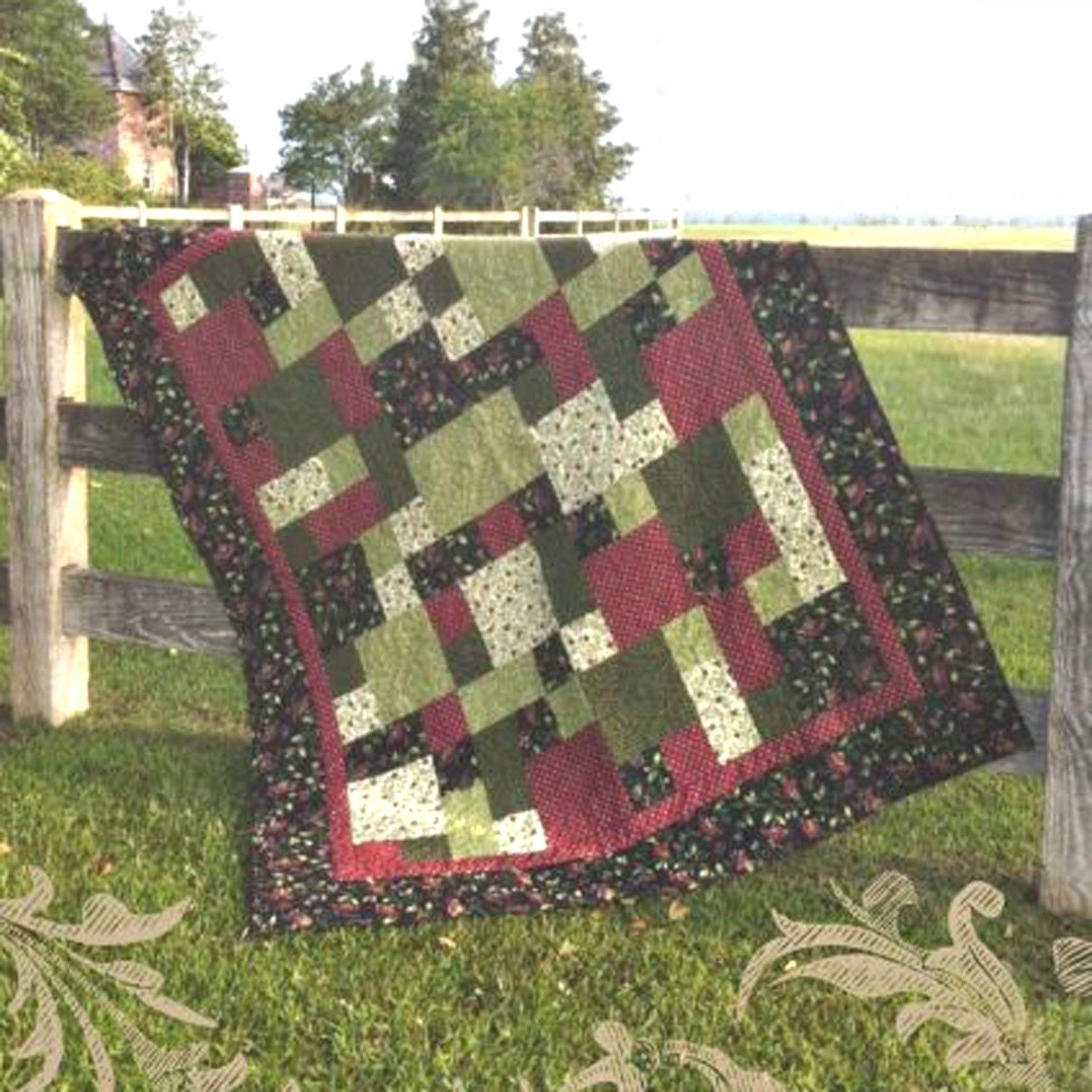 This is a hard copy pattern that will be mailed out within 1-2 ... : how to quilt fabric for beginners - Adamdwight.com