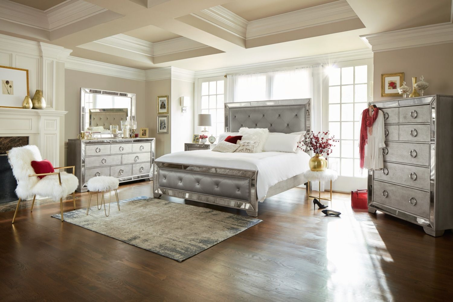 Angelina Upholstered Bed
