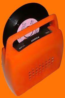 Giradischi portatile anni '70