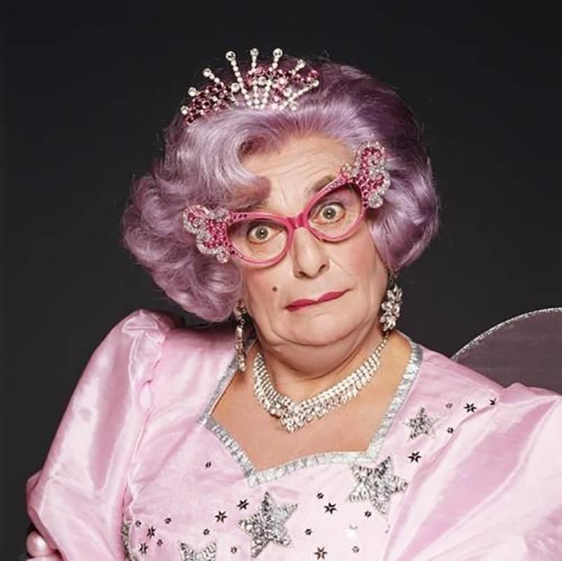 Barry Humphries As Dame Edna Fairy Godmother Costume Fairy