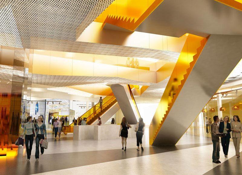 Emporia in malmo sweden architecture interior design - Interior design shopping websites ...