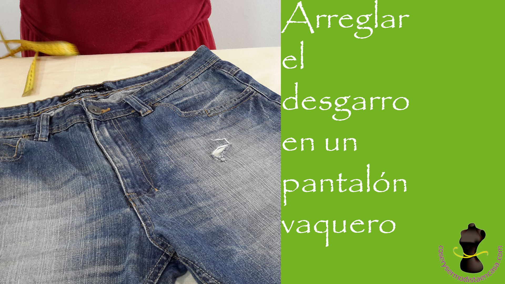 arreglo de pantalones de hombre