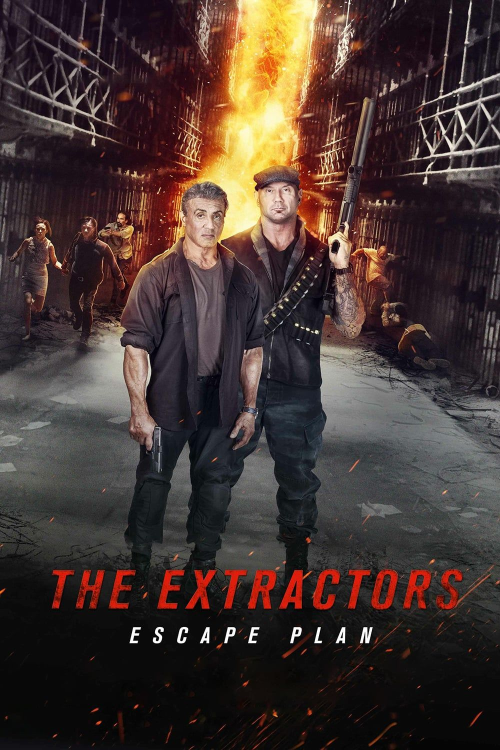 Escape Plan The Extractors Filme Cmplet E Dublad Penjara Devon Jaime King
