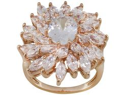 Bella Luce (R) 10.04ctw Oval And Marquise Eterno (Tm) Ring