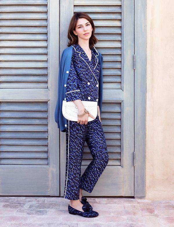 Sofia Coppola makes even the pyjamas look chic.