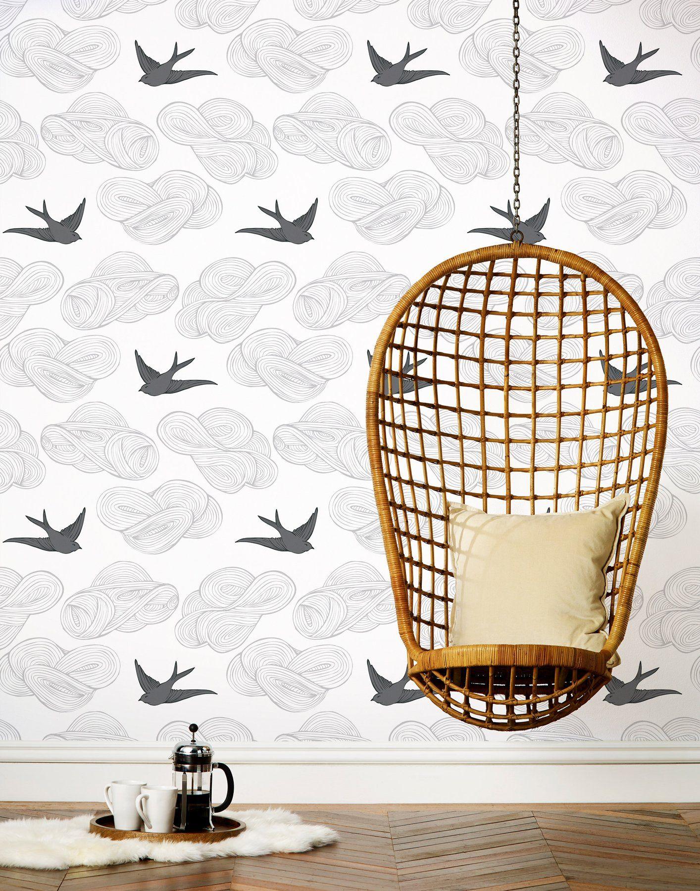 Daydream (Light Gray) Tiles, Set of Tiles Grey removable
