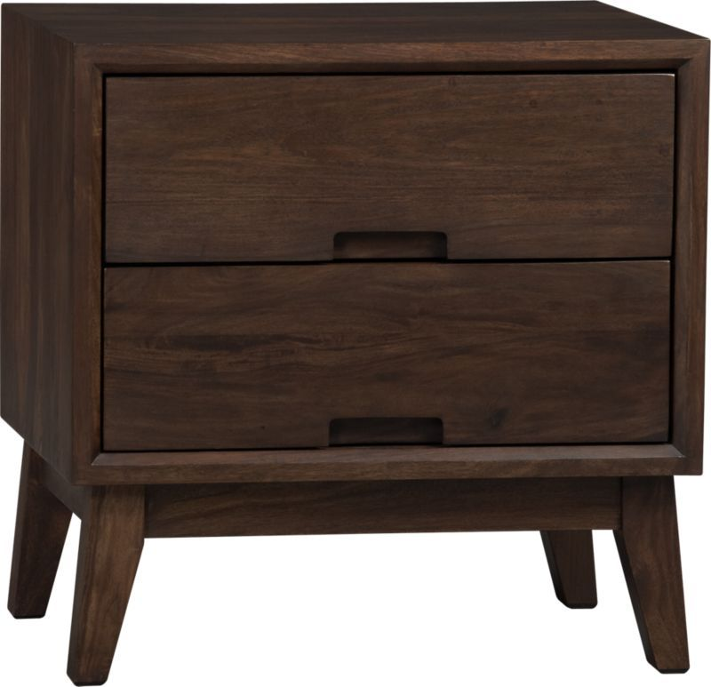 Steppe nightstand crate and barrel crate and barrel - Crate barrel bedroom furniture ...
