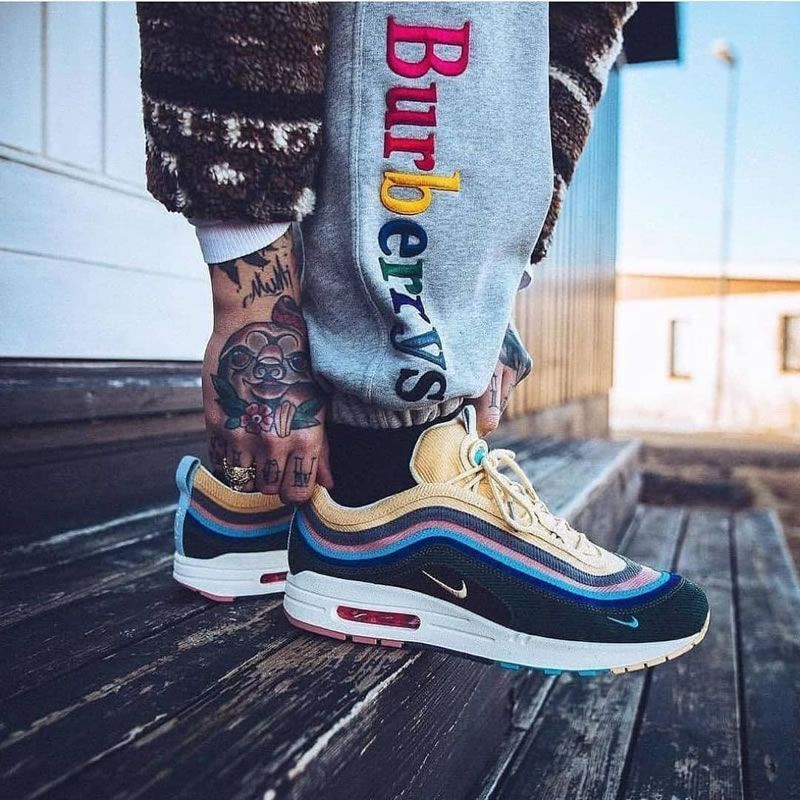 nike air max 97 sean wotherspoon on feet