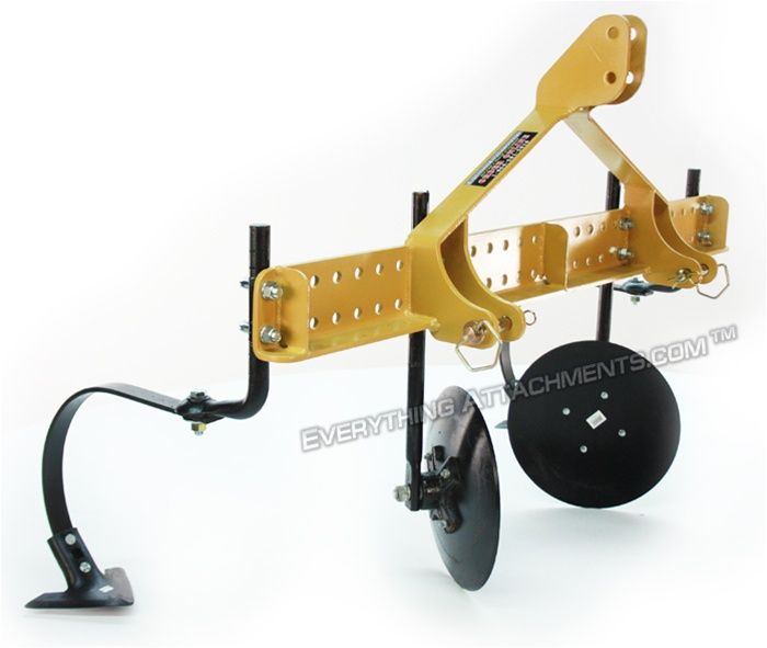 Everything attachments brand tractor 3 point hitch garden for Garden implements tools