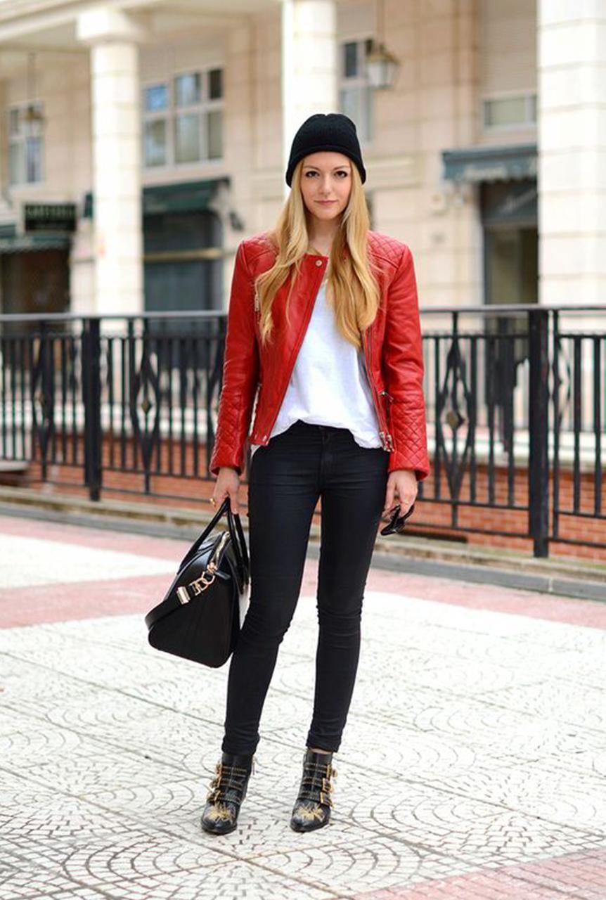 Conjunto chaqueta roja ea78bc2713c9