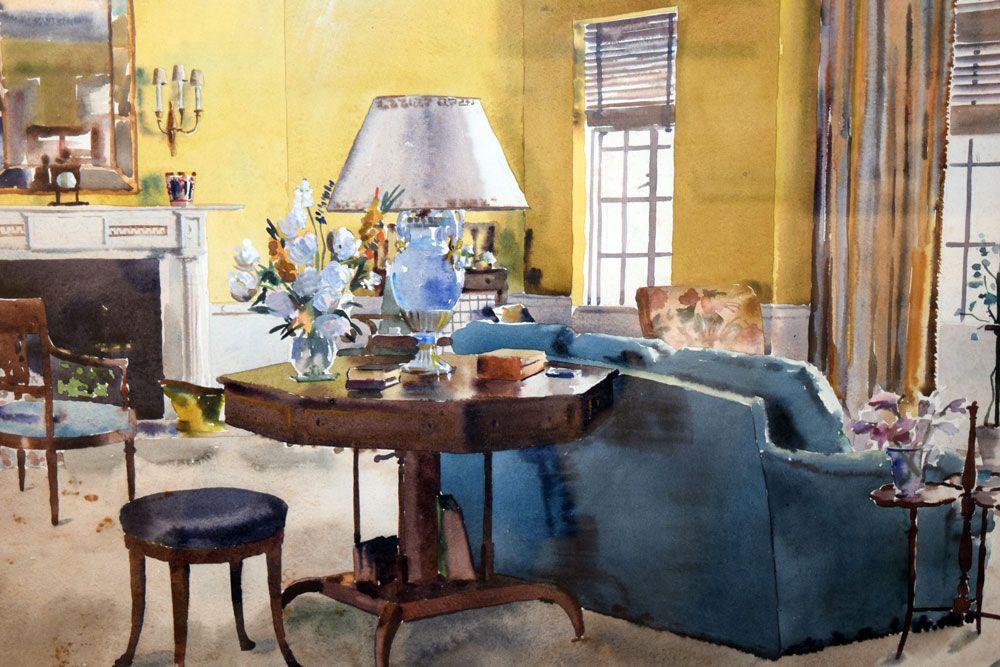 Image result for alexa hampton kitchen living room Pinterest