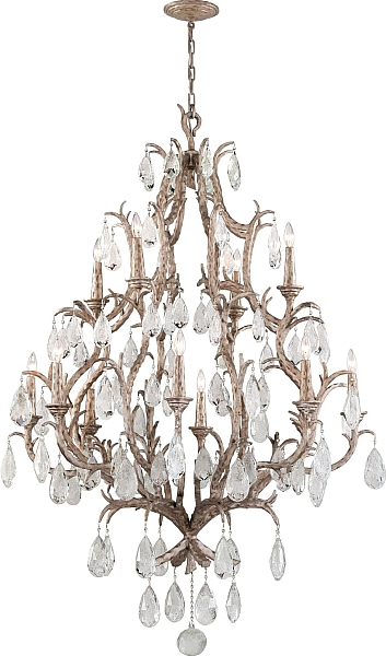 Amadeus 12 Light Crystal Chandelier Lighting Lights Chandelier Corbett Lighting Candle Styling Bronze Chandelier