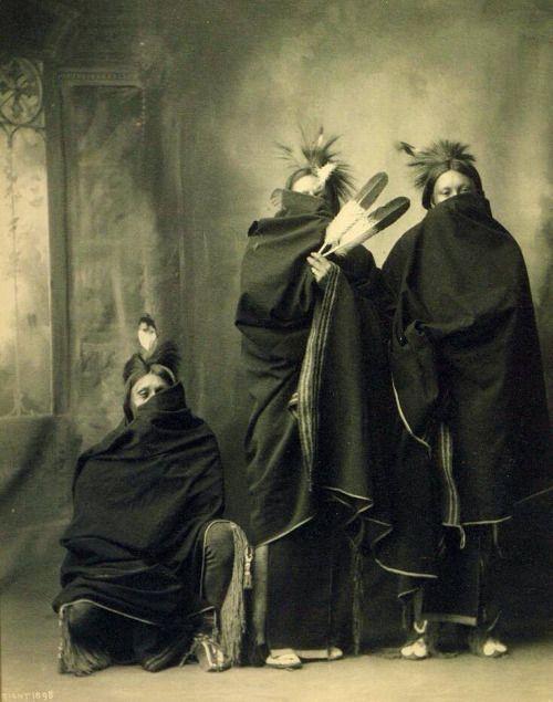 In winter Kiowa. 1898. Photo by F. A. Rinehart