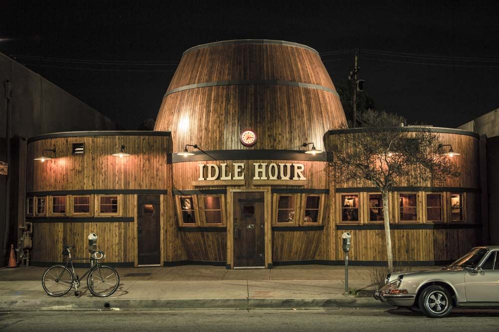 Idle Hour bar in LA