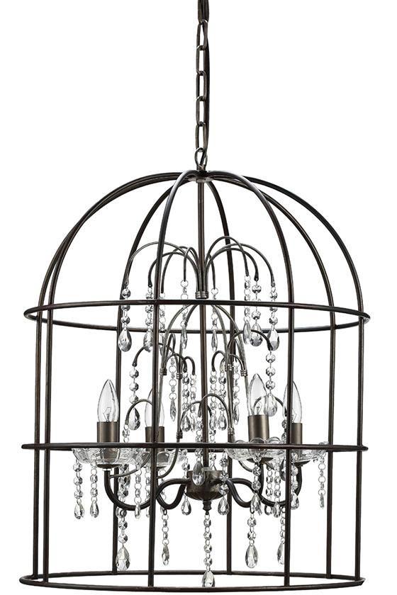 Bismark Chandelier - Birdcage Chandelier -  Unique Chandelier -  Dining Room Chandelier -  Entryway Chandelier | HomeDecorators.com