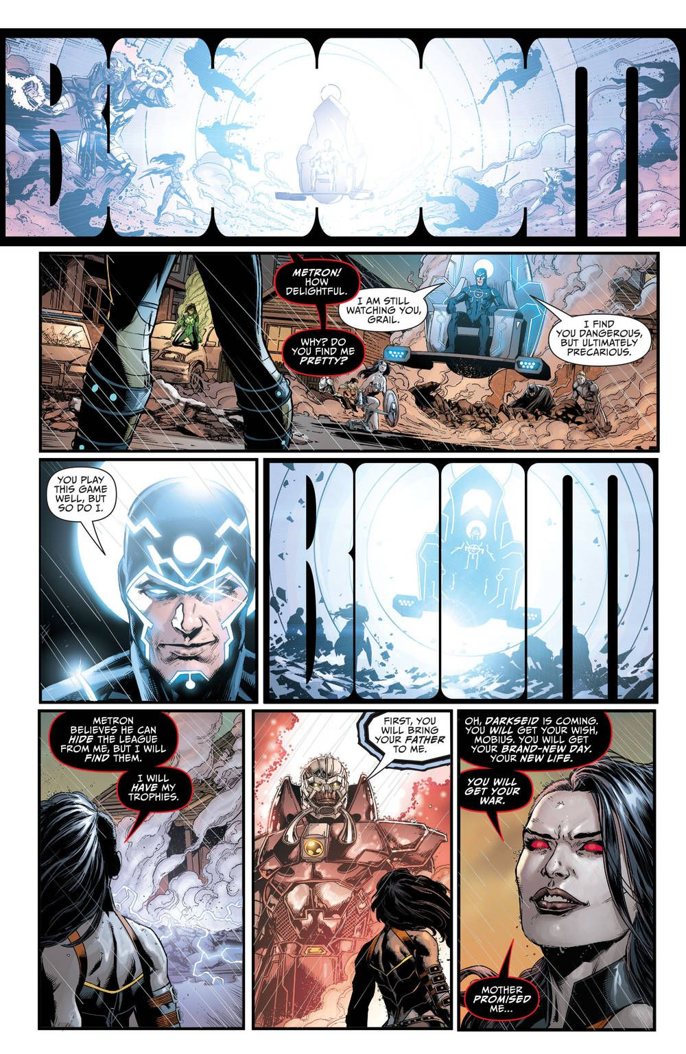 Justice League #42 Darkseid War 2