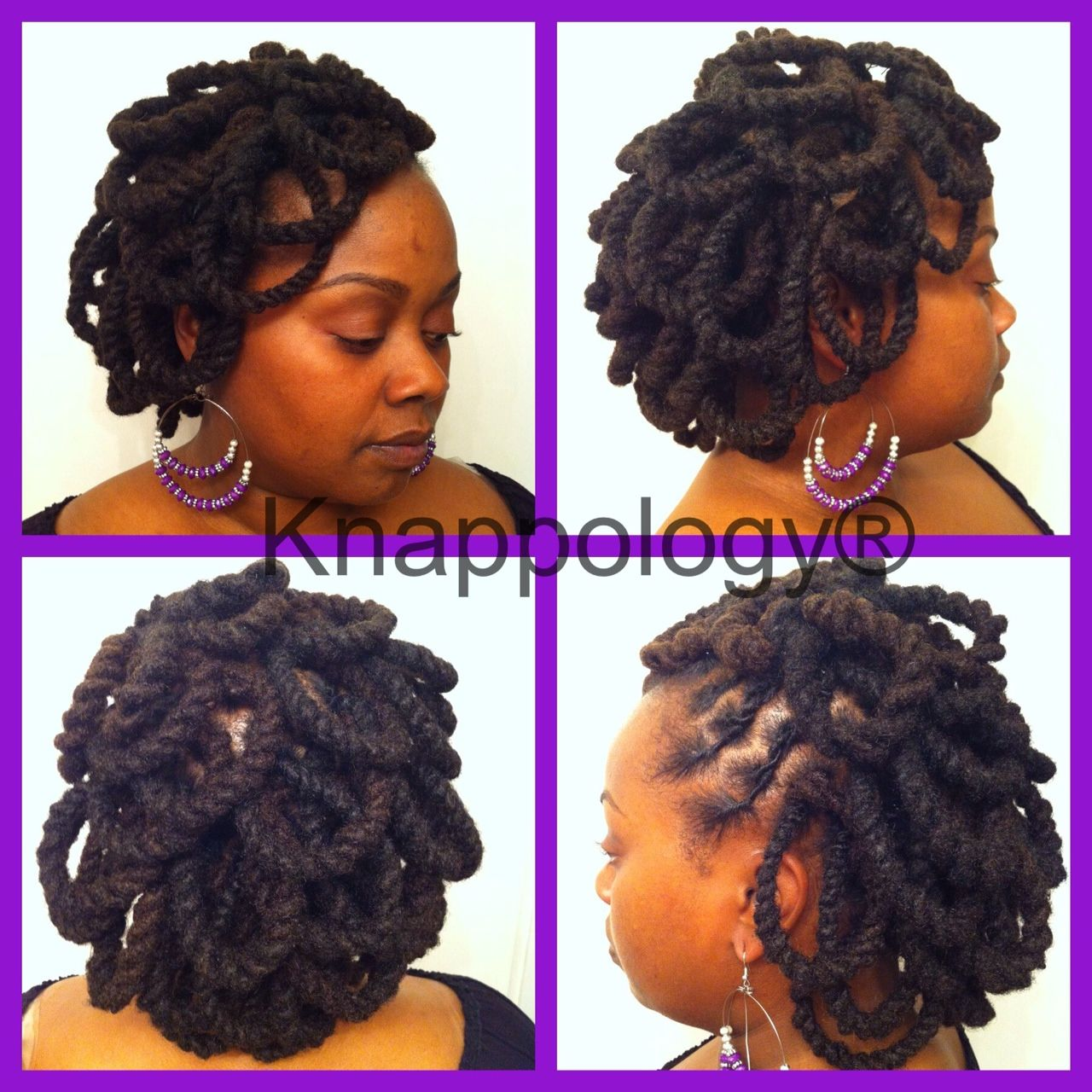 Pipe Cleaners Loc Petals Styles By Knappology Hair Styles