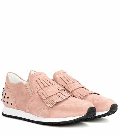 Suede sneakers   Tod's