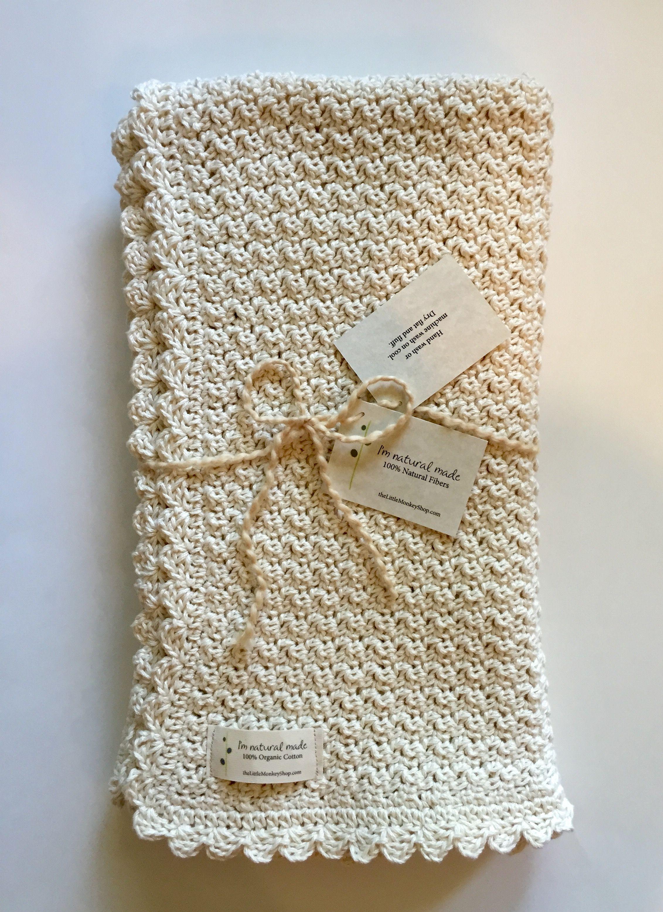 Baby Blanket Crochet Pattern By Little Monkeys Designs Baby Blanket Crochet Pattern Crochet For Beginners Blanket Crochet Blanket Diy