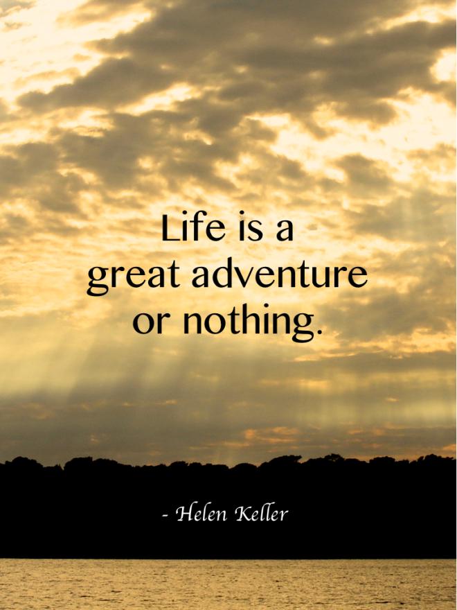 Travel quotes, Helen Keller #travelquotes | Adventure quotes ...