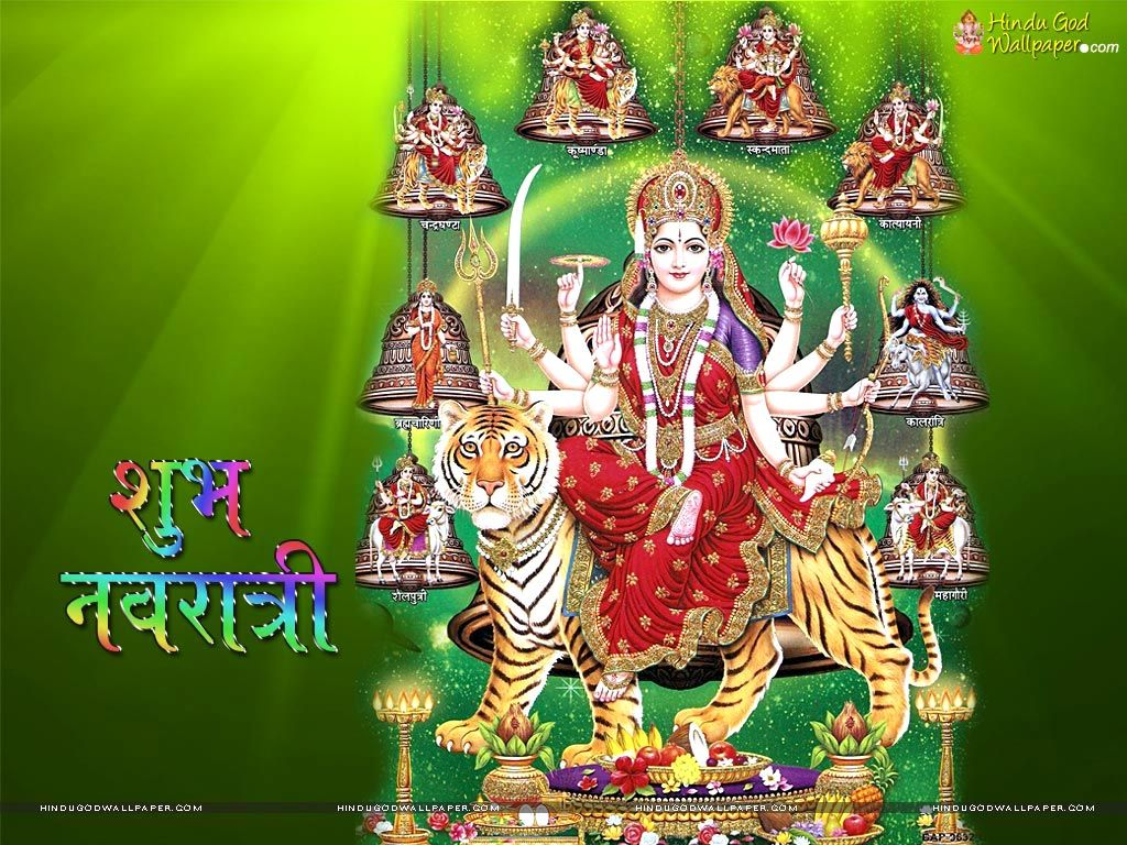 Hindu Festival Happy Navratri Hd Wallpapers Download Navratri