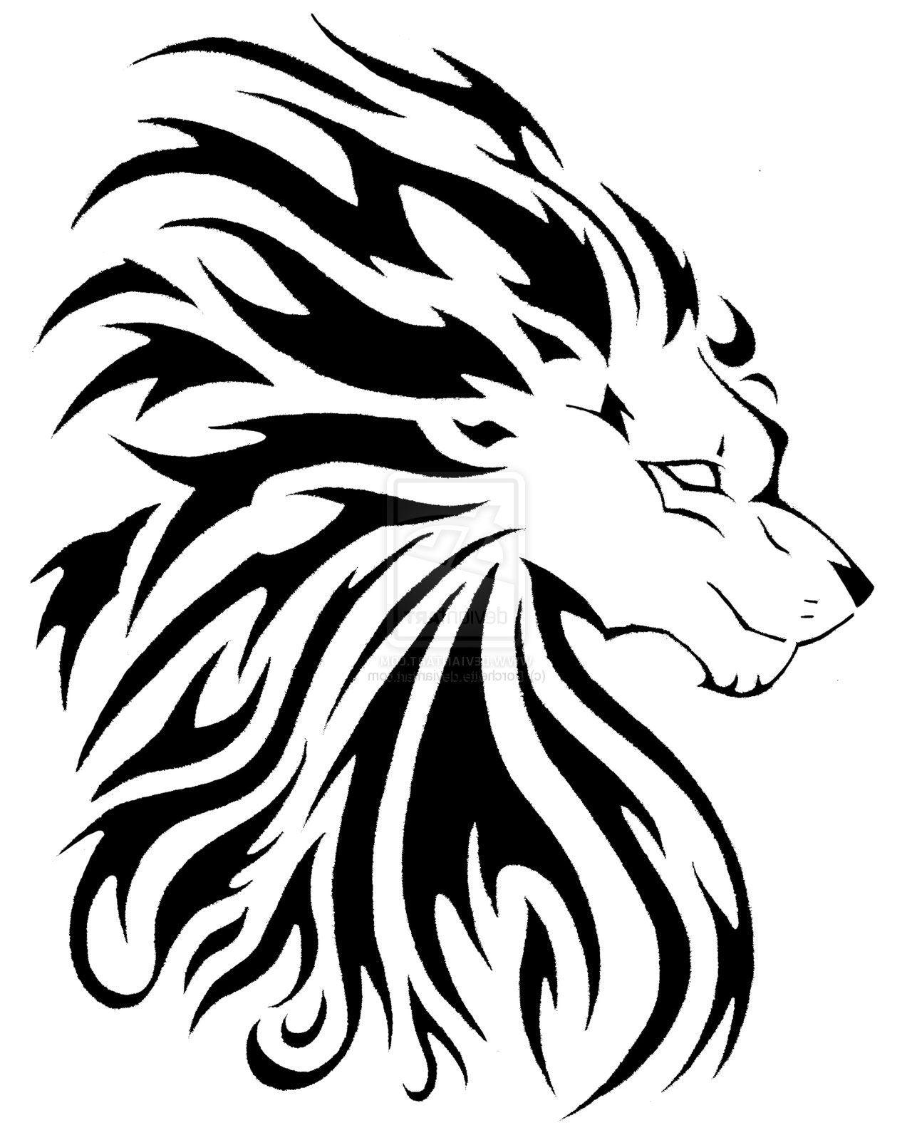 Leo Tribal Tattoos For Women Leo Tribal Tattoo Designs Cool