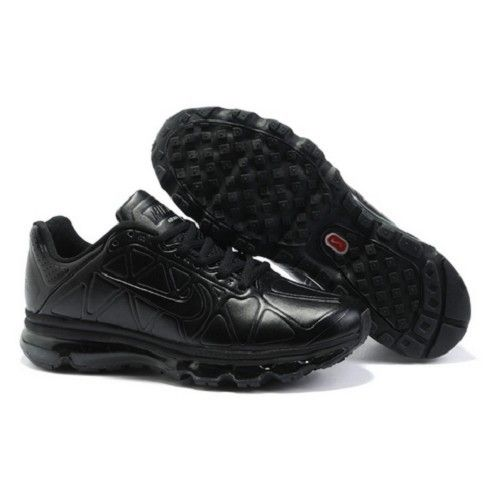 Nike Patent Leather Referee Shoes | Air Max 2011 All Black Patent Leather  Men Running Shoes