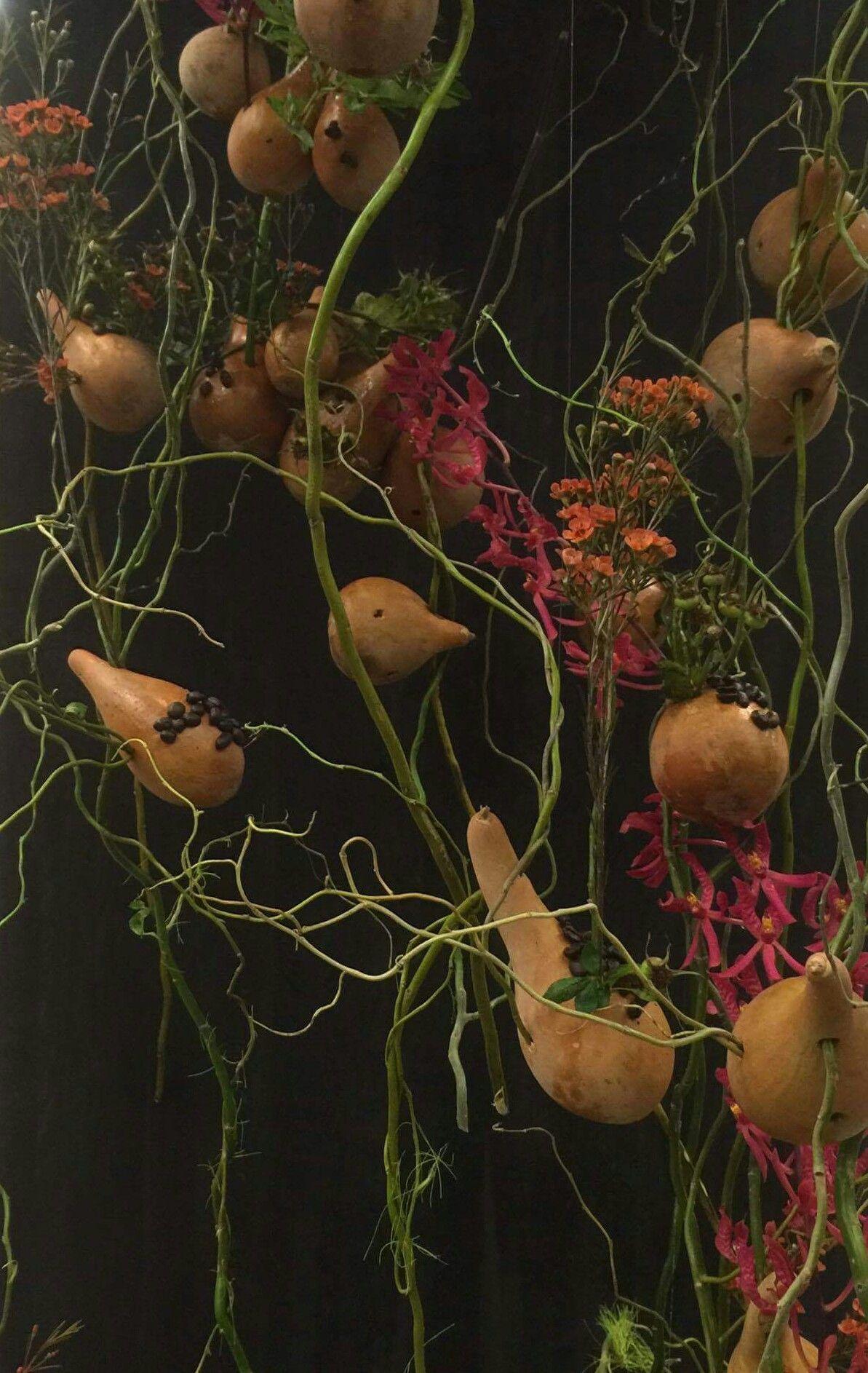 Esculturas florales