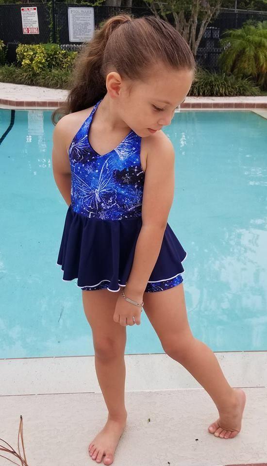 Girl\'s Be Brilliant Swimsuit Pattern | Pinterest