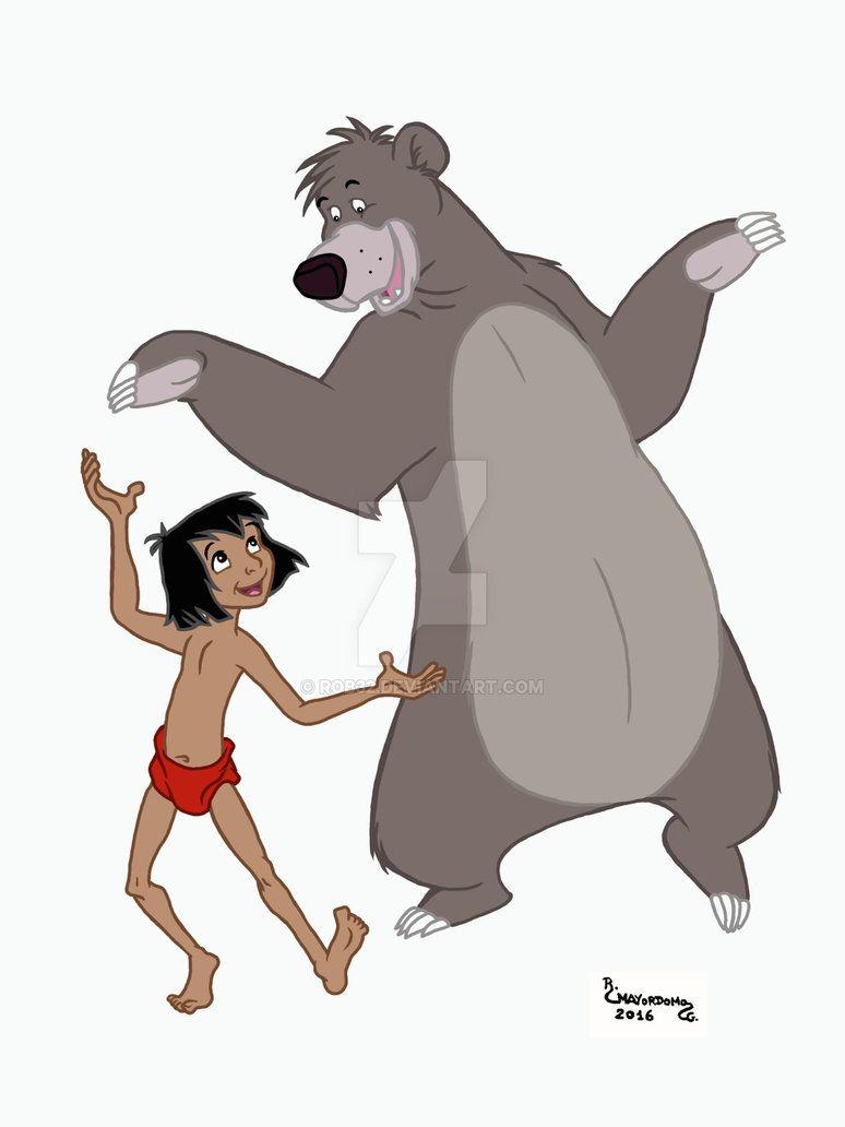 Mowgli Y Baloo By Rob32 On Deviantart