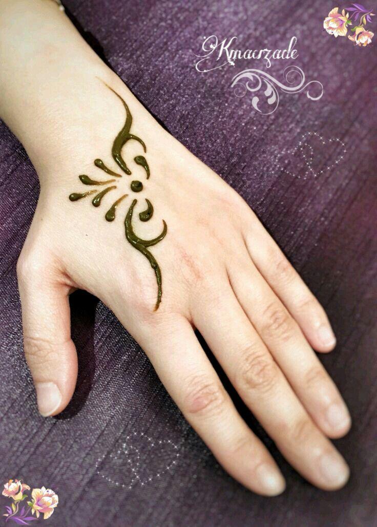 Pin By Farah Saqlaini On F Mehndi Small Henna Designs Small