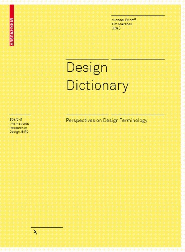 Design Dictionary By Guestcac505 Via Slideshare