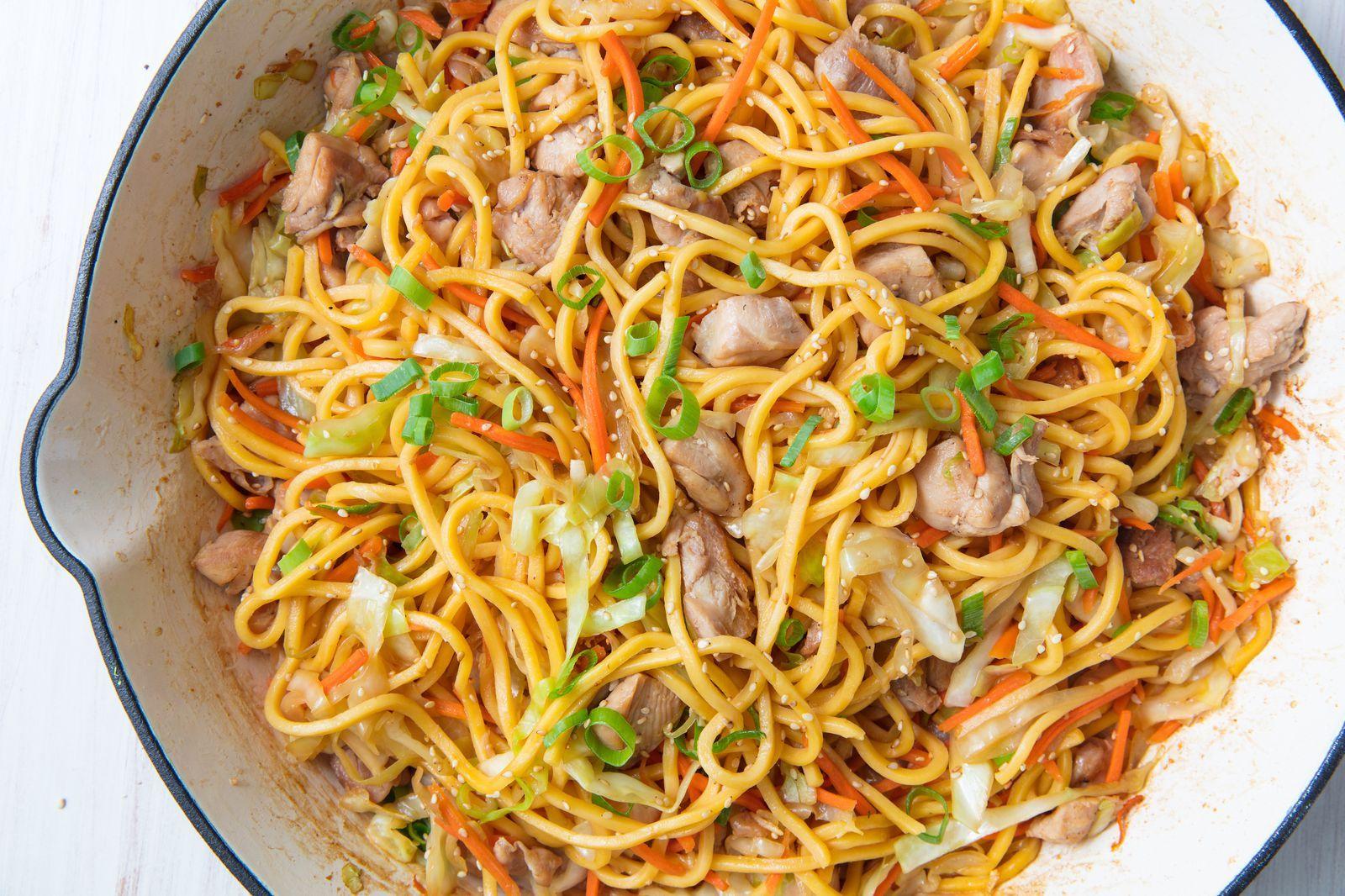 Chicken Chow Mein Recipe Food Recipes Cooking Best Chicken