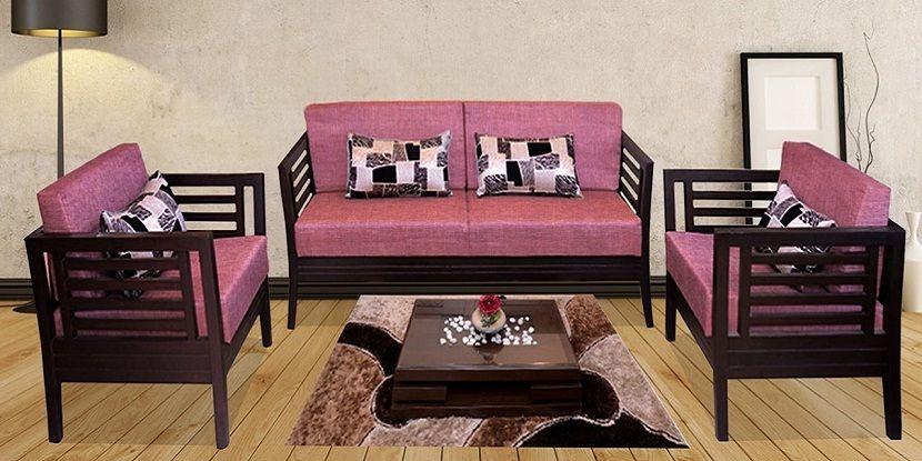 Modern Teak Wood Sofa Set Design Teakwoodsofa Woodsofa Woodensofa Sofaset Outdoorideas Gardensofa Gardenfurniture Sofa Set Designs Wood Sofa Sofa Set