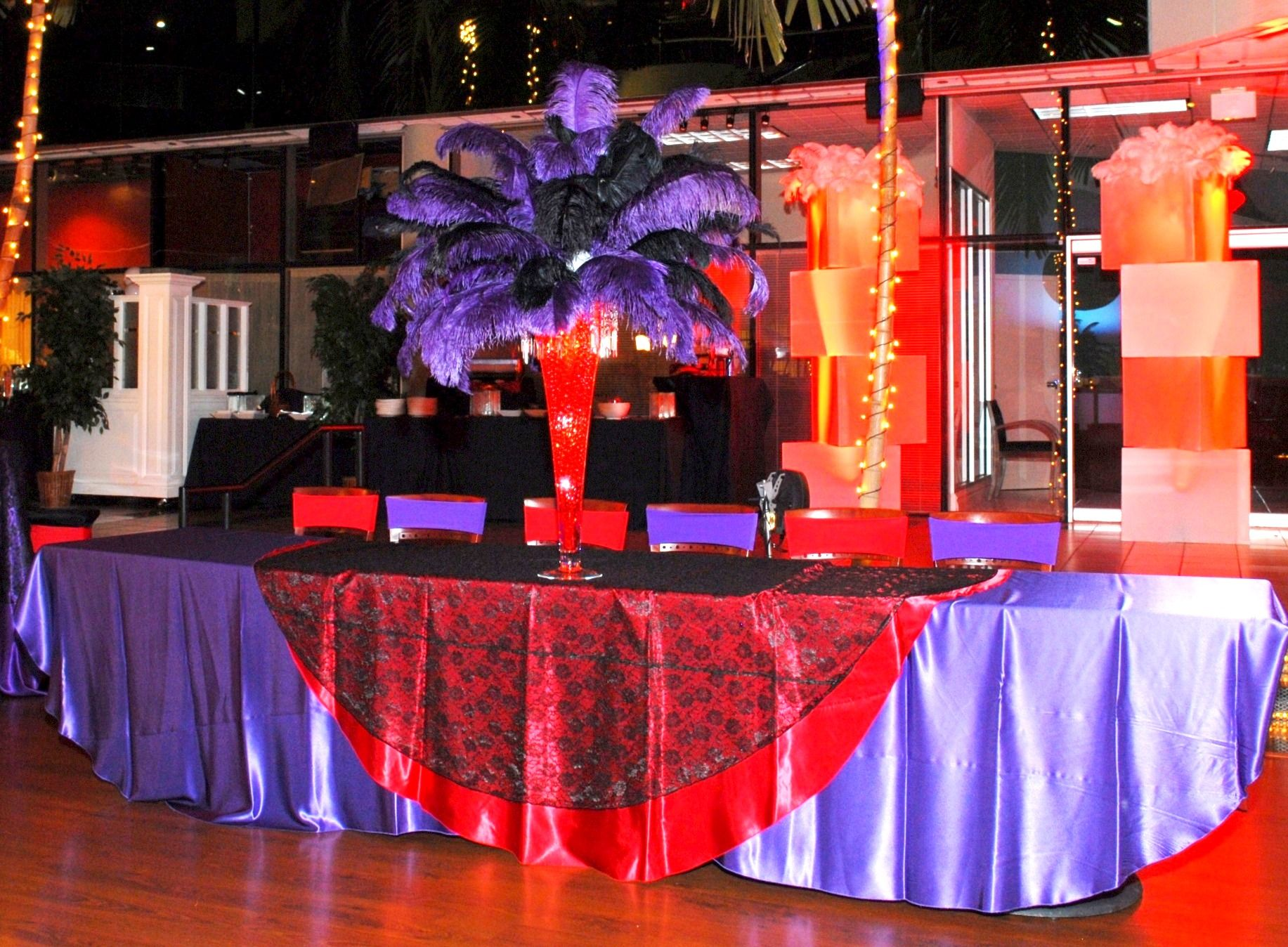 Beautiful Decor At Annamarie S Sweet Sixteen Paviliongrille Bocaraton Quinceanera Party Bar Mitzvah Quinceanera