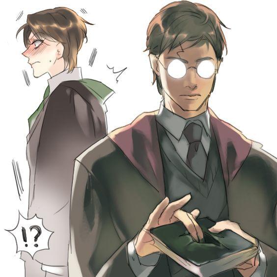 Can T Stop Laughing Tom Marvolo Riddle Fan Art Hledat Googlem Harry Potter Comics Fem Harry Potter Female Harry Potter