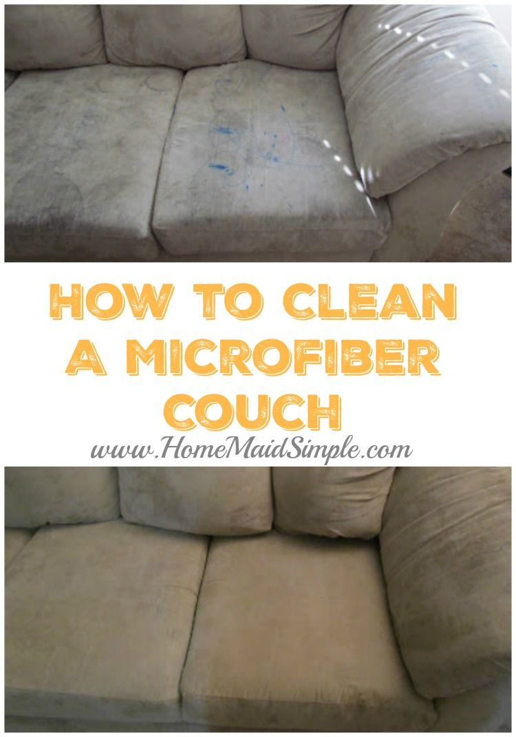 Everyone loves a microfiber couch until they have to clean it. This how-to guide walks through 4 methods I attempted to find the best way to clean a microfiber couch