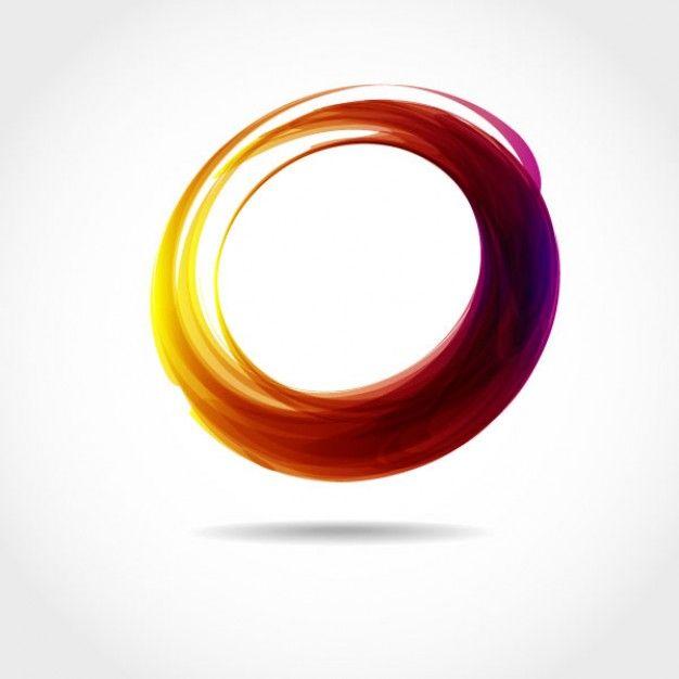 Transparent circle graphic colorful background | Logos | Pinterest ...