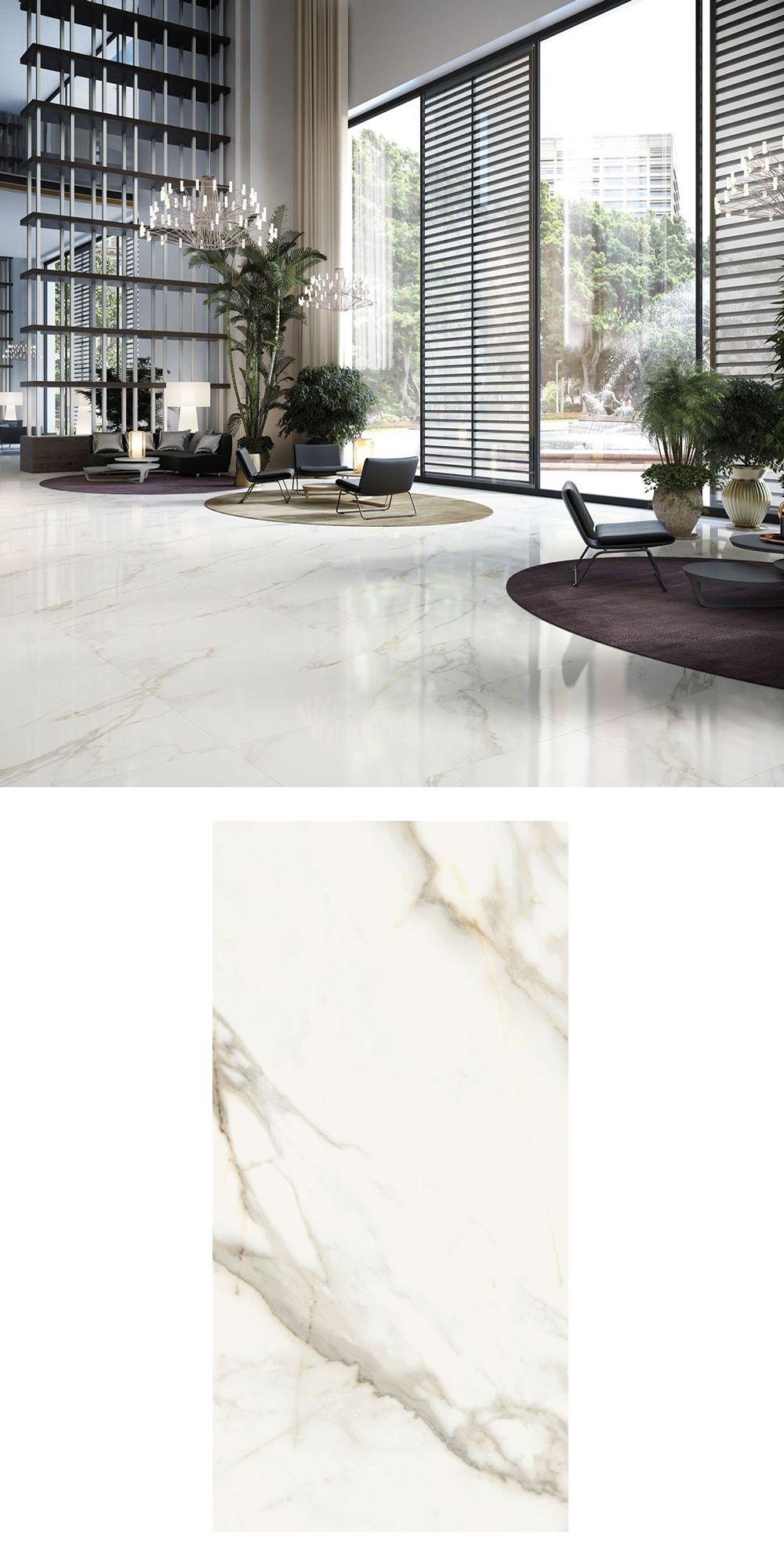 Mimosa Marble Valley White Gold 60x60 Tiles White Marble Floor