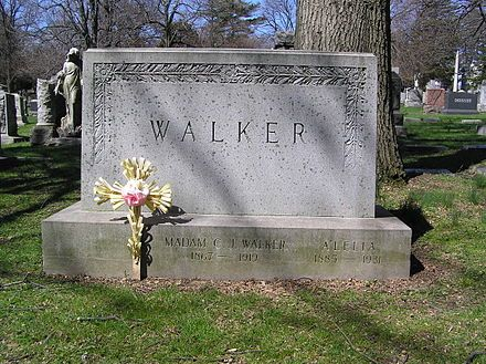 Madam C. J. Walker - Wikipedia, the free encyclopedia