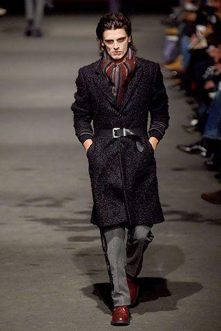 Alexander McQueen Fall 2006 Menswear