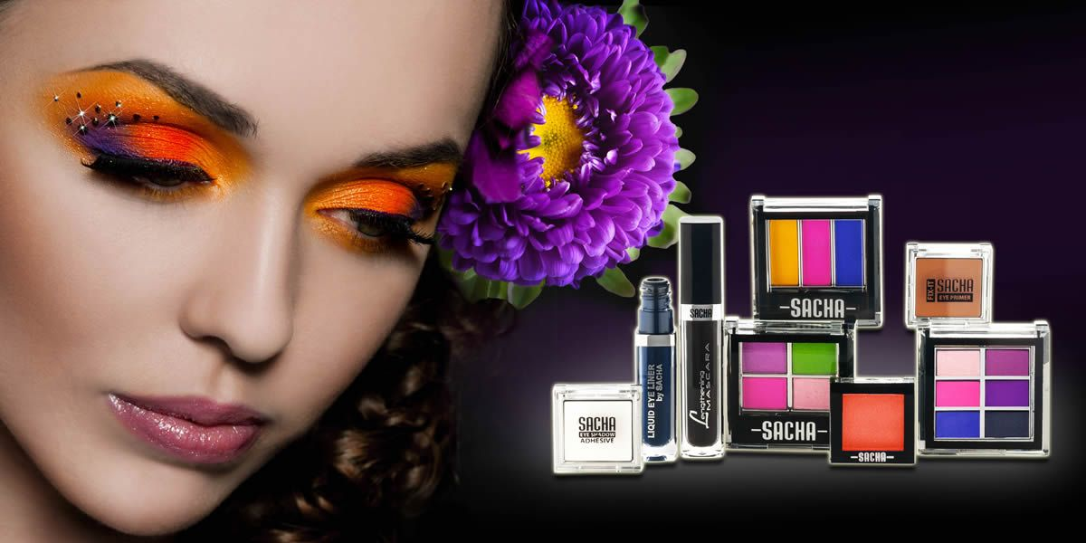Another Eye Make-up Banner ad by SACHA Cosmetics. http://www