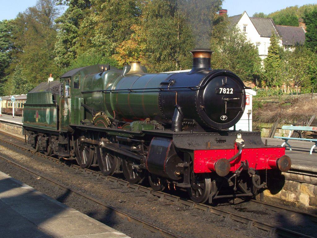 Foxcote Manor /by Scotsguardsman100 flickr steam engine