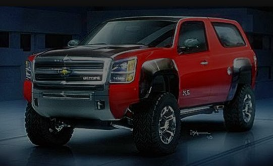 2017 Chevy Blazer K5 New Design Price And Release Date Info