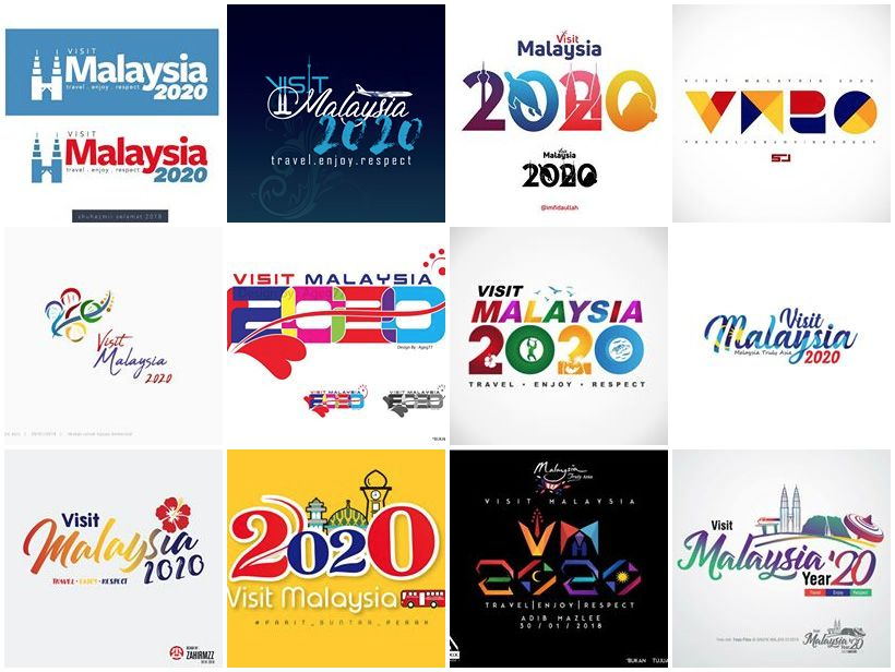 New Ideas In Tourism 2020 Linked: Visit Malaysia 2020 Logo Submissions | logo 2020