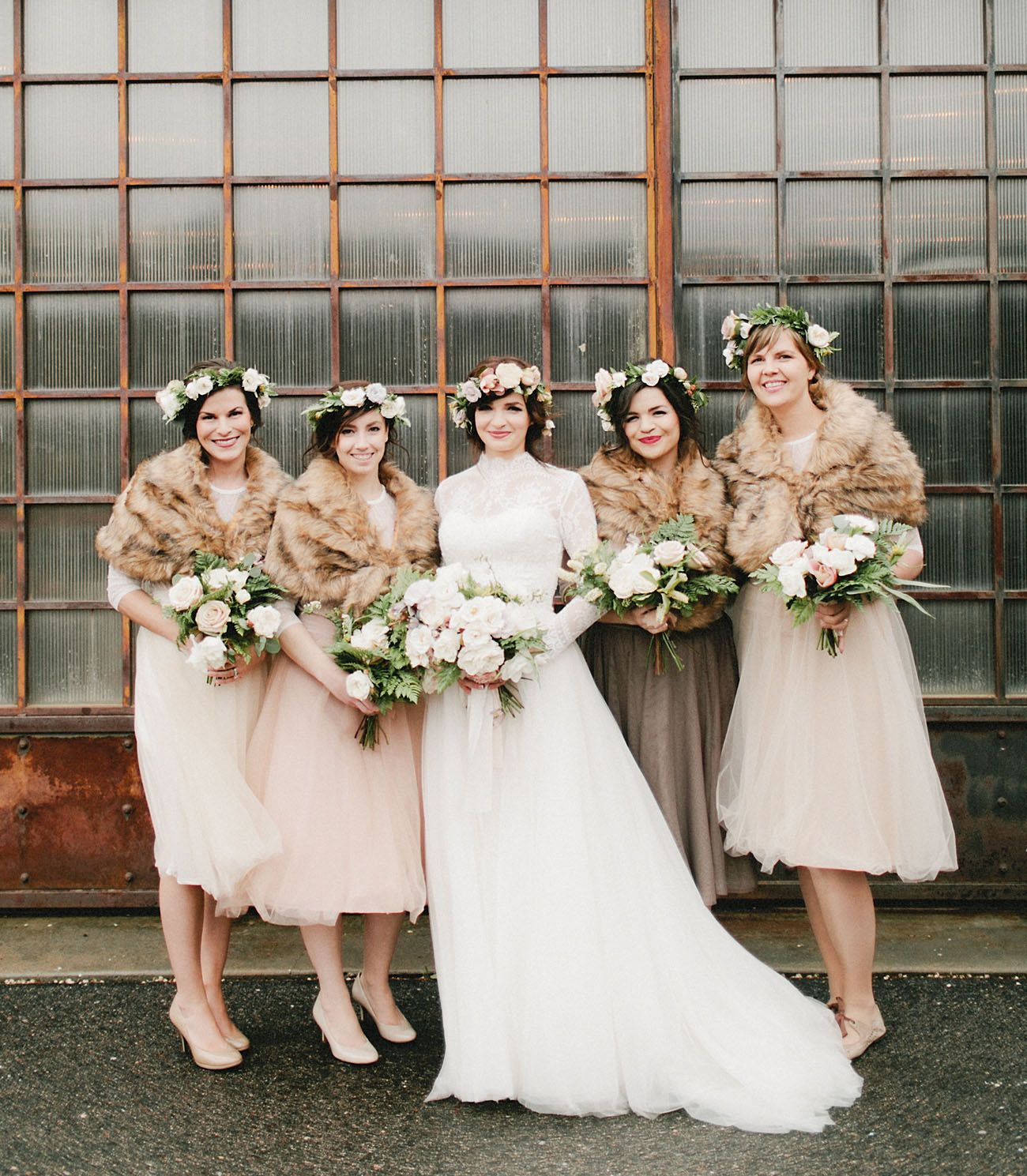 Urban Fairytale Wedding In Denver: Ellen + Bruce
