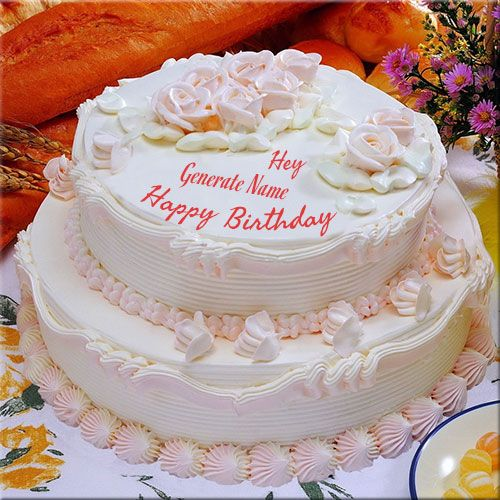 Birthdaycake Images With Name Generate Now