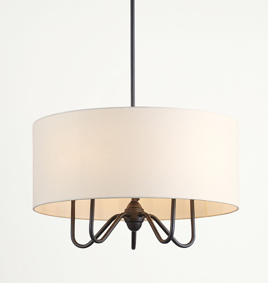 Kitchen Drum Light Berkshire Drum Chandelier 23 1 2in Overall Length Oil Rubbed