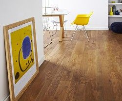 Topps Tiles - Multi Width Oak Brushed & Matt Lacquer - 47.77 per sq metre