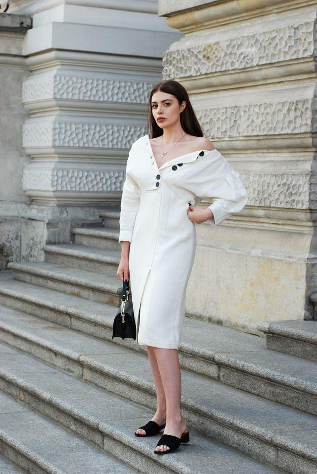 b1772ca76e18 Soft linen. Soft linen White Dress Summer, Blue Summer Dresses, Fashion 2017,  Fashion Trends,